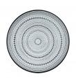 Iittala Kastehelmi grå 6 stk mellem tallerkener (24,8 cm)