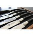 12 Laguiole En Aubrac Ebony steakknive