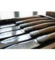 12 stk 'Laguiole En Aubrac' Oliventræ steakkniver