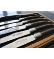 6 Laguiole En Aubrac Wenge Steakknive