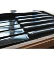 12 Laguiole En Aubrac steakknive i sort paperstone