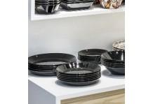 Iittala Teema komplet tallerkensæt sort 6 personer