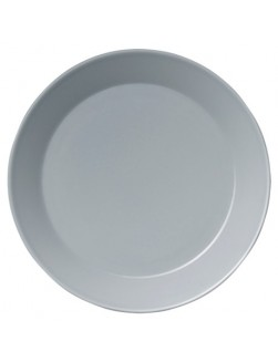Iittala Teema perlegrå stor 6 tallerkener (26 cm)
